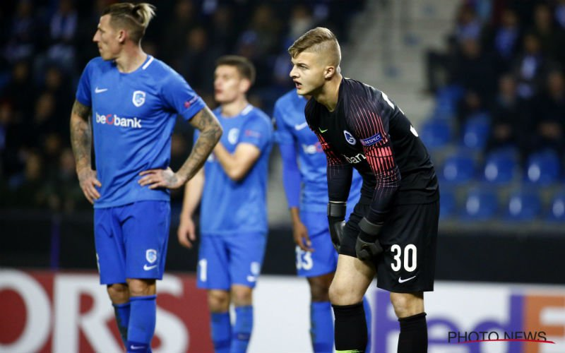 KRC Genk lijdt totale schipbreuk in Europa League