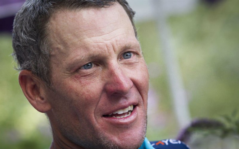 Lance Armstrong over Wout van Aert: