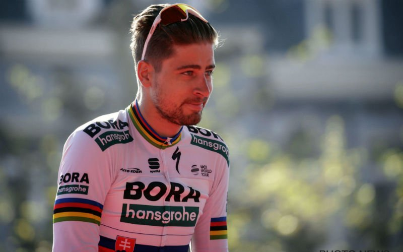 Sagan over Van der Poel: