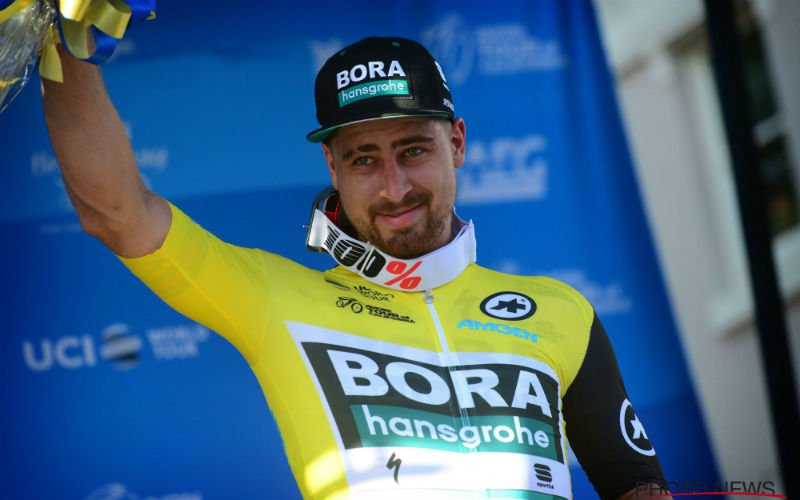 Peter Sagan na zege: